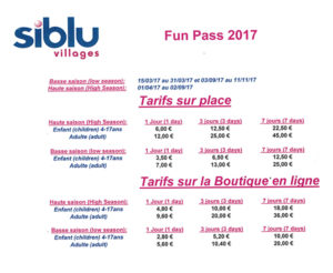 FUN-PASS SIBLU 2018