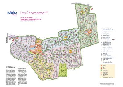 Map of 4* Les Charmettes