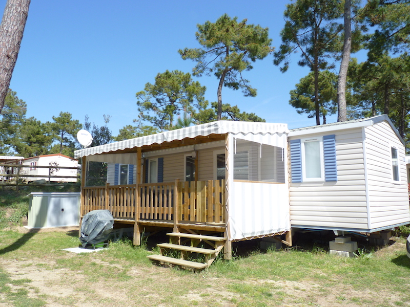 CB511 – Mobil-home Bonne Anse Plage – 8 Pers – IRM Aventura