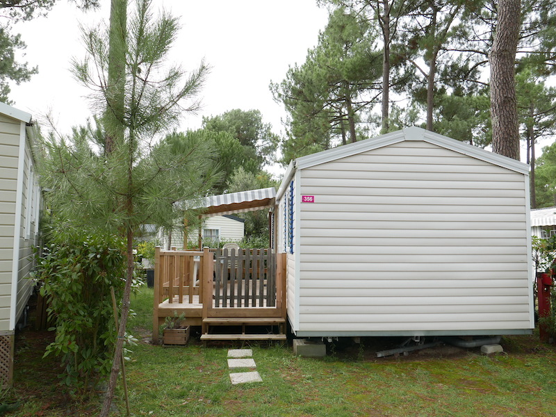 CB356 – Mobil-home Bonne Anse Plage – 8 Pers – IRM Luminosa