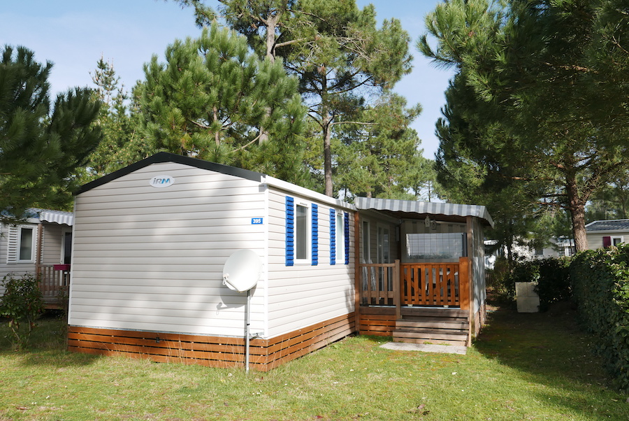 CB395 – Mobil-home Bonne Anse Plage – 6 Pers – IRM Aventura