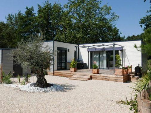 DF17 – Écolodge Domaine de la Forêt – 8 Pers – MONTAIGU Cottage Familly